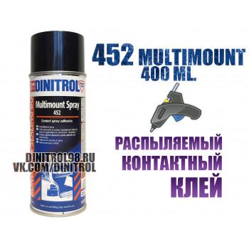 Dinitrol 452 распыляемый контактный клей для потолка