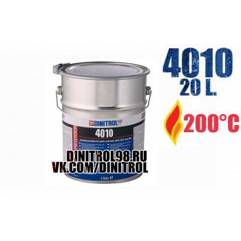 Dinitrol 4010, 20 литров - антикор для двигателя ( моторного отсека ) воск для двигателя